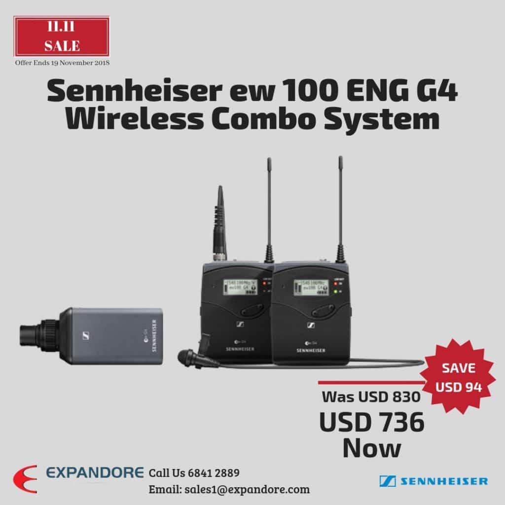 Sennheiser EW 100ENG G4