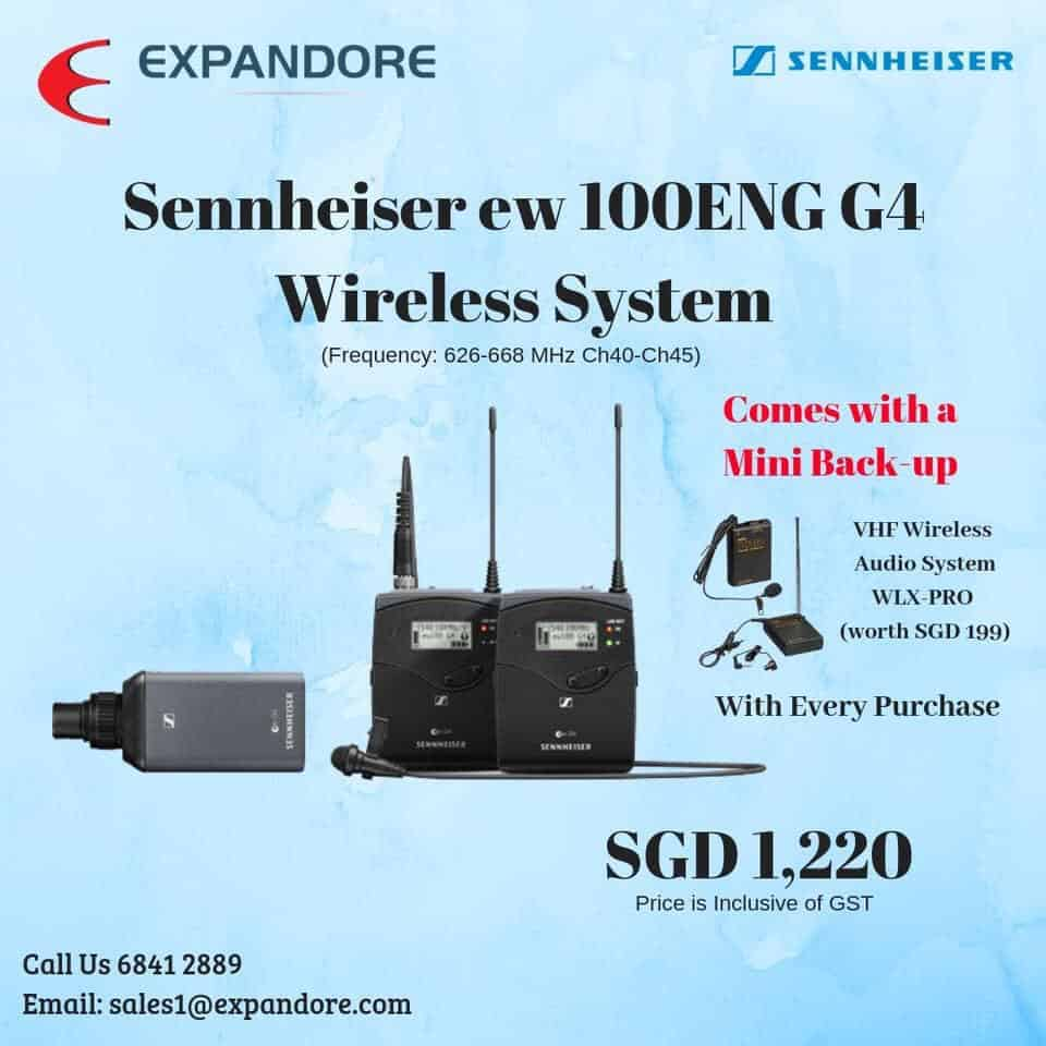 Sennheiser ew 100ENG G4 Wireless System
