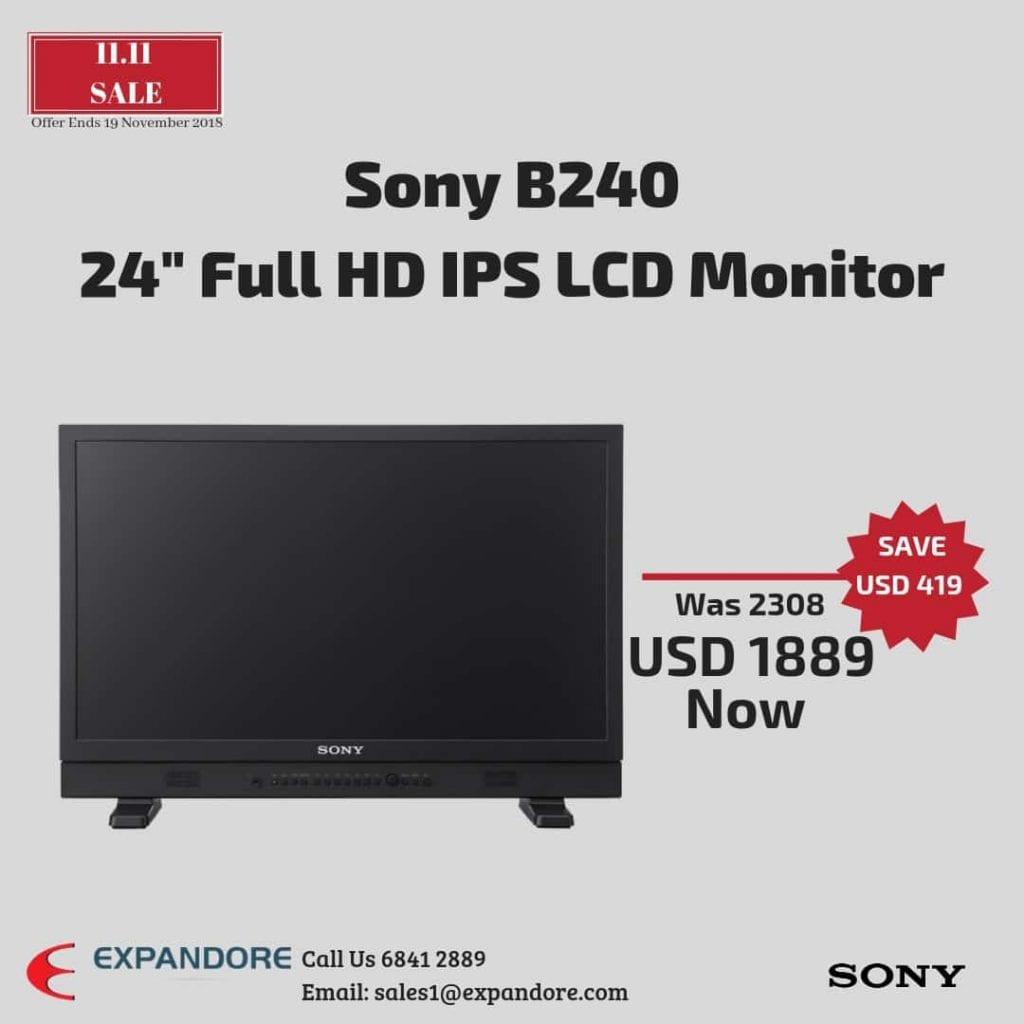 Sony LMD-B240