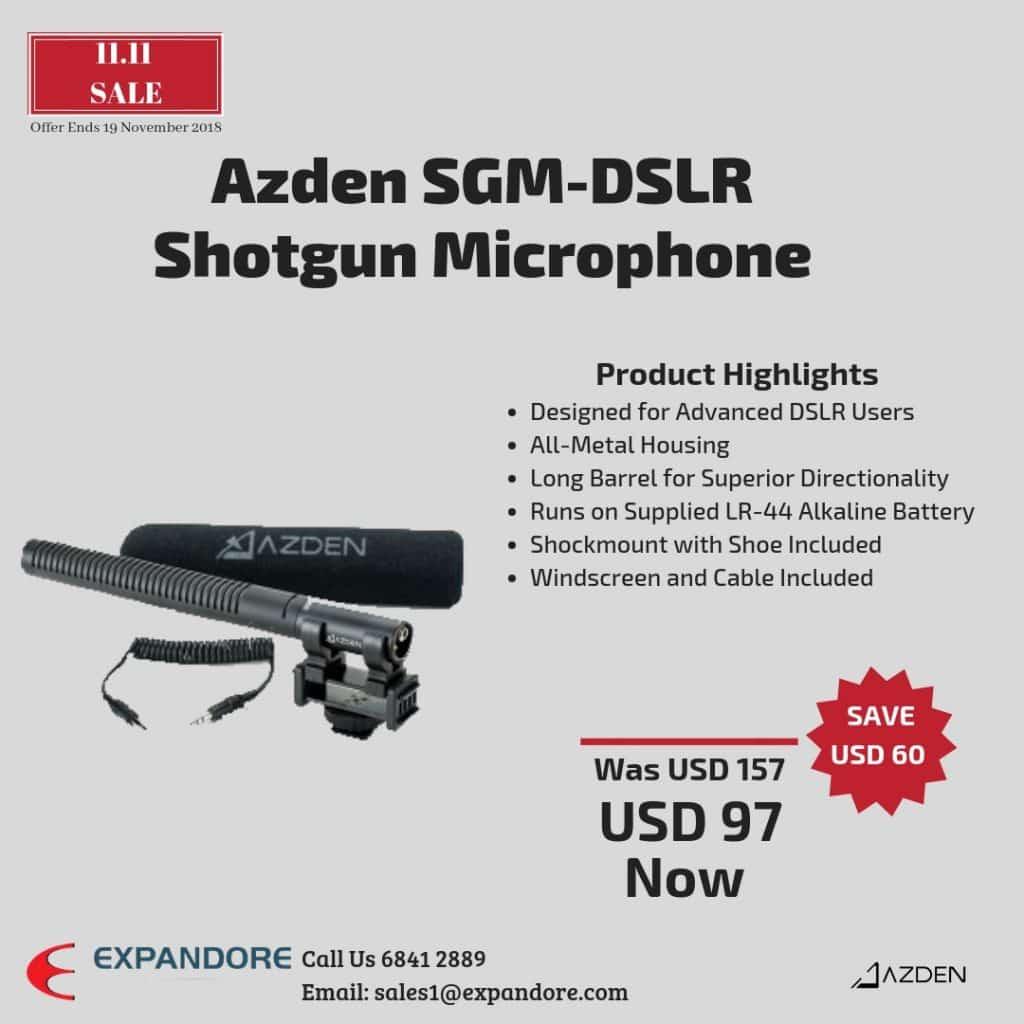 Azden SGM-DSLR