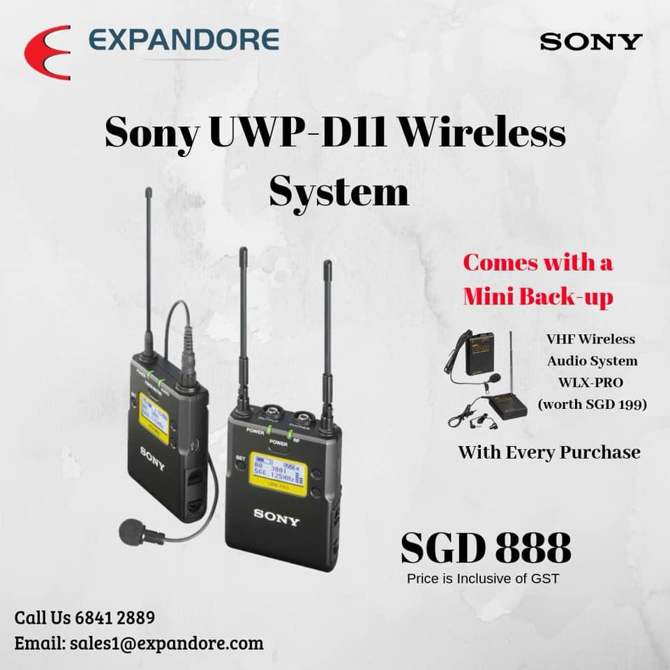 Sony UWP-D11 Wireless System