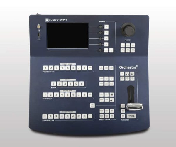 Analog-Way ORC50 Orchestra2 Powerful Remote Controller