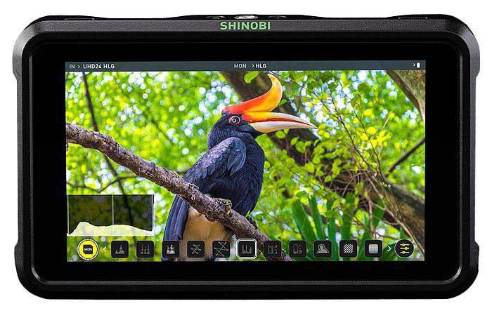 "Atomos SHINOBI 5 2"" 4K HDR Photo & Video Monitor"