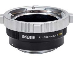 Metabones PL to Canon EFR-mount T