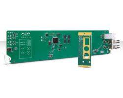 AJA OG-FiDO-2T-X Single Mode LC Fiber Transmitter