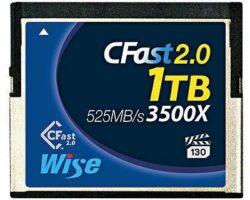 Wise CFA-10240 1TB CFast 2.0 Memory Card