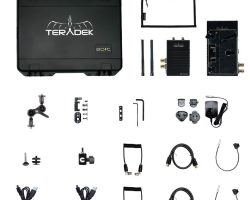 Teradek Bolt 500 XT SDI/HDMI Wireless TX/RX Deluxe Kit