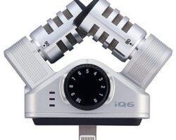 Zoom iQ6 Stereo Microphone