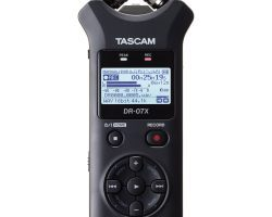 Tascam DR-07X Stereo Handheld Audio Recorder