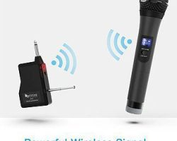 Fifine K025 Wireless Micophone System