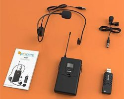 Fifine K031B Wireless Micophone System