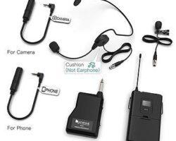 Fifine K037B Wireless Microphone System