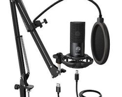 Fifine T669 USB Microphone (K680) with volume dial