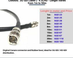 Canare 3G-SDI Cable L-4.5CHD