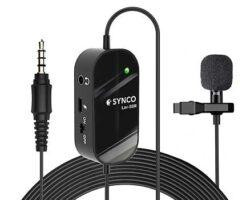 SYNCO Lav-S6M Omnidirectional Microphone Omnidirectional Microphone