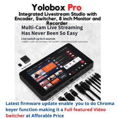 Yoloboxpro with Chroma Keyer